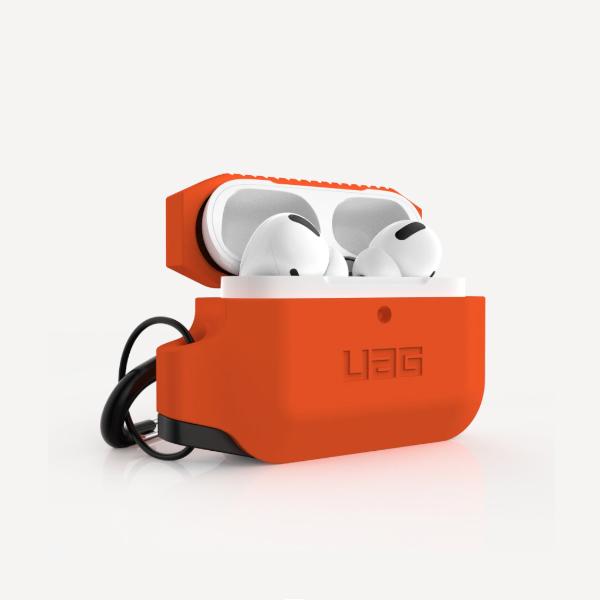 Силиконовый чехол для Apple Airpods Pro UAG, оранжевый