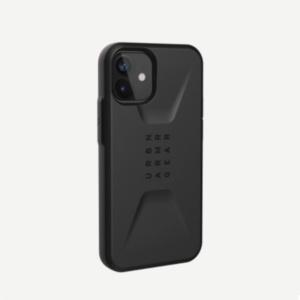 Противоударный чехол Uag Civilian iPhone 12 mini 5.4 черный (Black)