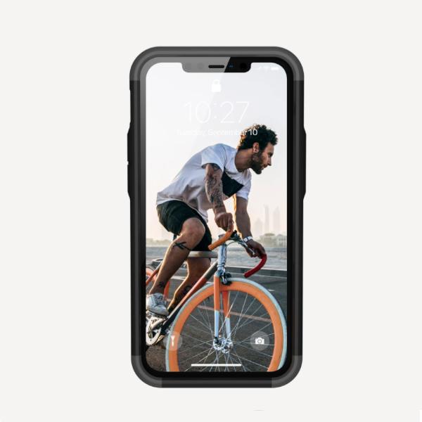 Противоударный чехол Uag Civilian iPhone 12 mini 5.4 темно-синий (Mallard)