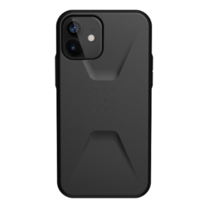 """Противоударный чехол Uag Civilian для iPhone 12 Pro Max 6.7"""" черный (Black)"""