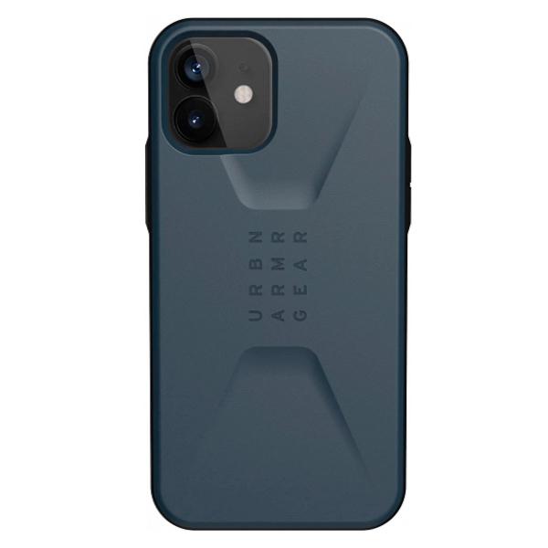 "Противоударный чехол Uag Civilian для iPhone 12 Pro 6.1"" темно-синий (Mallard)"
