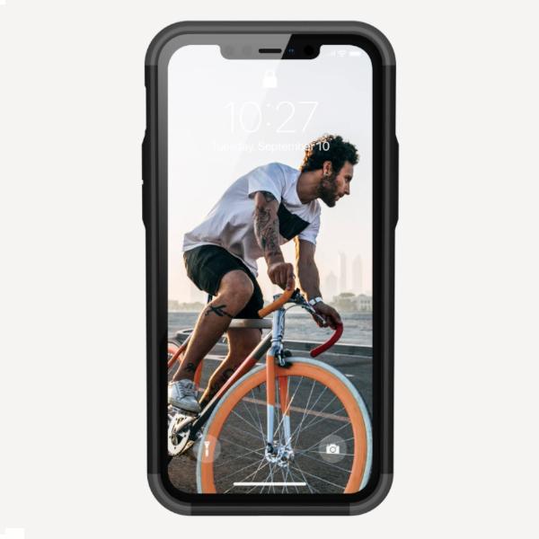 "Противоударный чехол Uag Civilian для iPhone 12 Pro Max 6.7"" серебро (Silver)"