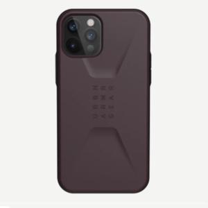 "Противоударный чехол Uag Civilian для iPhone 12 Pro Max 6.7"" баклажан (Eggplant)"
