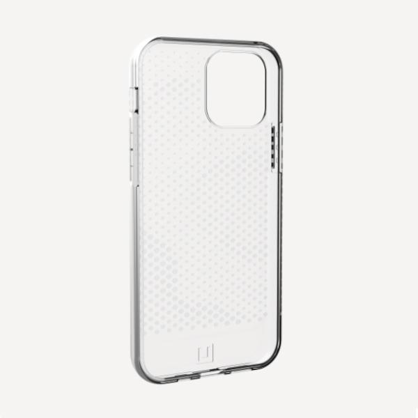 """Силиконовый чехол Uag Lucent для iPhone 12 6.1"""" прозрачный (Ice)"""