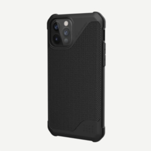 "Чехол Uag Metropolis LT ткань для iPhone 12 Pro Max 6.7"" черный (Black)"