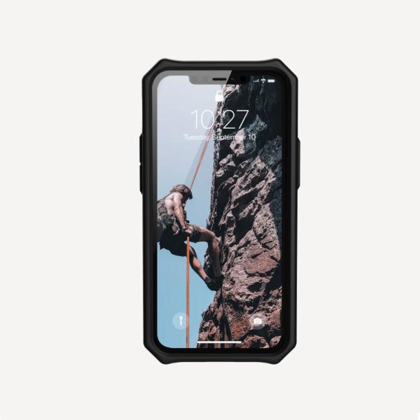 Противоударный чехол Uag Monarch iPhone 12 mini 5.4 темно-синий (Mallard)