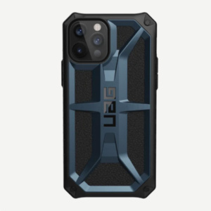 "Противоударный чехол Uag Monarch для iPhone 12 Pro Max 6.7"" темно-синий (Mallard)"