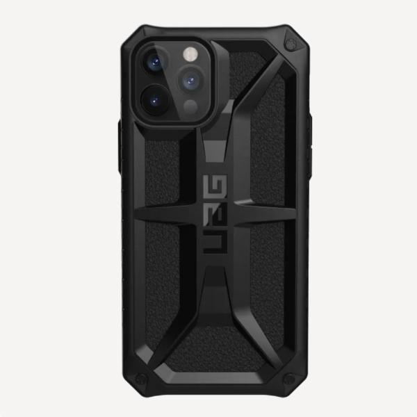 """Противоударный чехол Uag Monarch для iPhone 12 Pro 6.1"""" чёрный (Black)"""