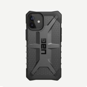 """Противоударный чехол Uag Plasma для iPhone 12 mini 5.4"""" тонированный (Ash)"""
