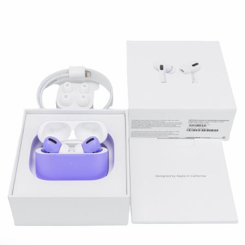 Беспроводные наушники Apple AirPods Pro Custom Edition фиолетовый матовый