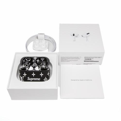 Беспроводные наушники Apple AirPods Pro Custom Edition Supreme черные матовые