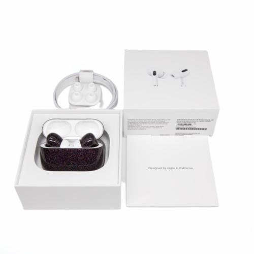 Беспроводные наушники Apple AirPods Pro Custom Edition блестки глянец фиолетовый