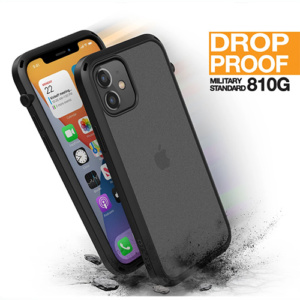 """Противоударный чехол Catalyst Influence Series Case для iPhone 12 mini 5.4"""", черный"""
