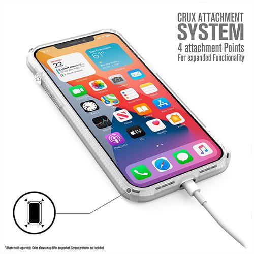 """Противоударный чехол Catalyst Influence Series Case для iPhone 12 Pro 6.1"""", белый"""
