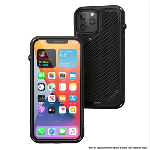 """Противоударный чехол Catalyst Vibe Series Case для iPhone 12 6.1"""", черный"""