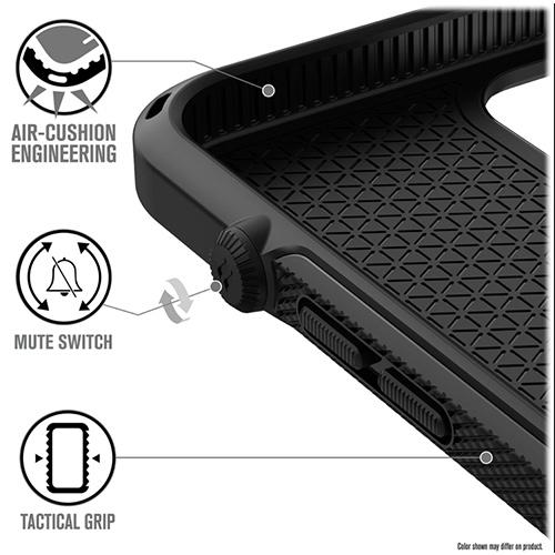 """Противоударный чехол Catalyst Vibe Series Case для iPhone 12 Pro Max 6.7"""", черный"""
