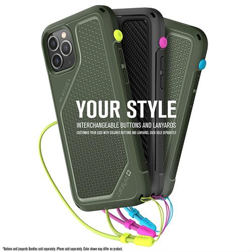 """Противоударный чехол Catalyst Vibe Series Case для iPhone 12 Pro 6.1"""", зеленый"""