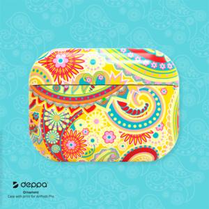 Deppa Ornamen пластиковый чехол для AirPods Pro с принтом