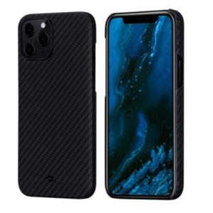 """Кевларовый чехол Pitaka MagEZ Case для iPhone 12 Pro Max  6.7"""", черно-серый"""