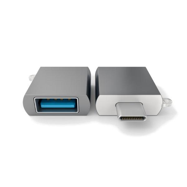 Разветвитель для компьютера Satechi USB Adapter ST-TCUAM (Серебристый)