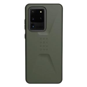 Чехол Uag Civilian для Samsung Galaxy S20 Ultra оливковый (Olive Drab)