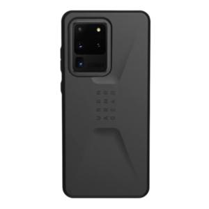 Чехол Uag Civilian для Samsung Galaxy S20 Ultra черный (Black)