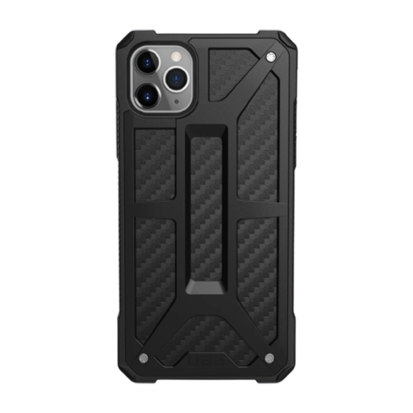 Чехол UAG MONARCH Series для iPhone 11 Pro Carbon Fiber Black