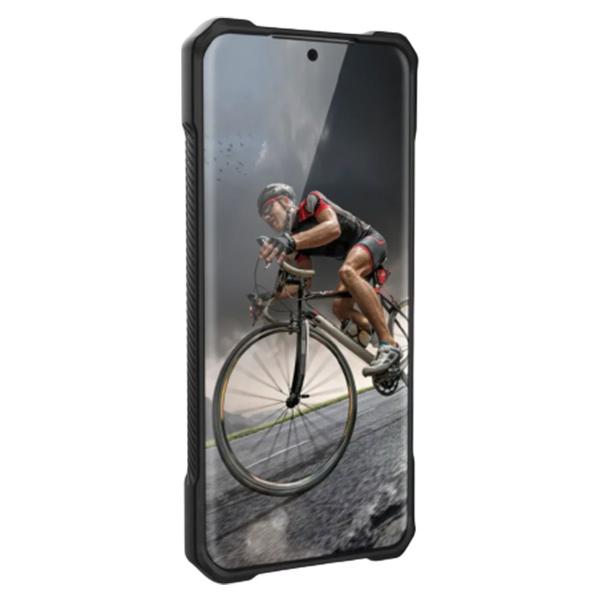 Чехол Uag Monarch для Samsung Galaxy S20 чёрный карбон (Carbon Fiber)