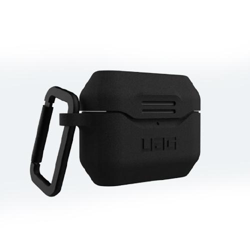 Силиконовый чехол UAG для Airpod Pro Silicone Case V2, черный (Black)