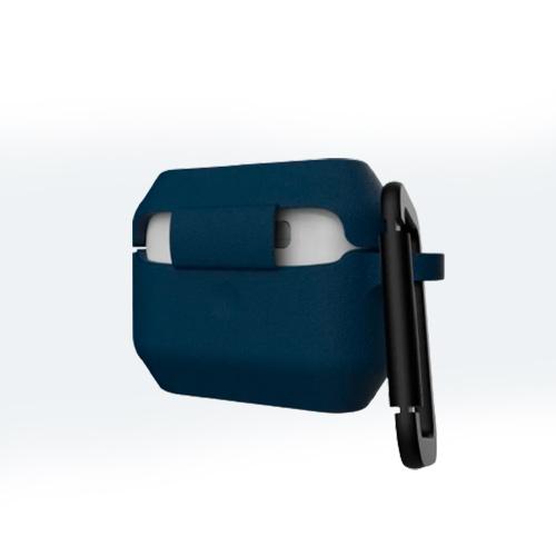 Силиконовый чехол UAG для Airpod Pro Silicone Case V2, темно-синий (Mallard)
