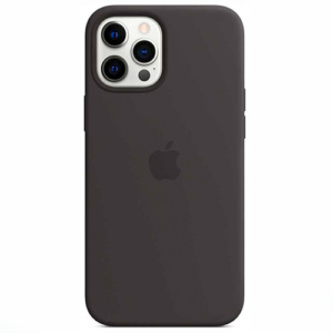 """Чехол Silicon Case для iPhone 12/12 Pro (6.1"""") черный"""