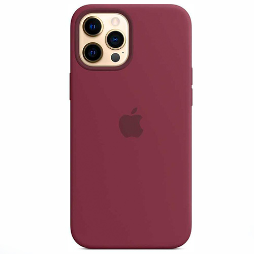 "Чехол Silicon Case для iPhone 12 Pro Max (6.7"") сиреневый"
