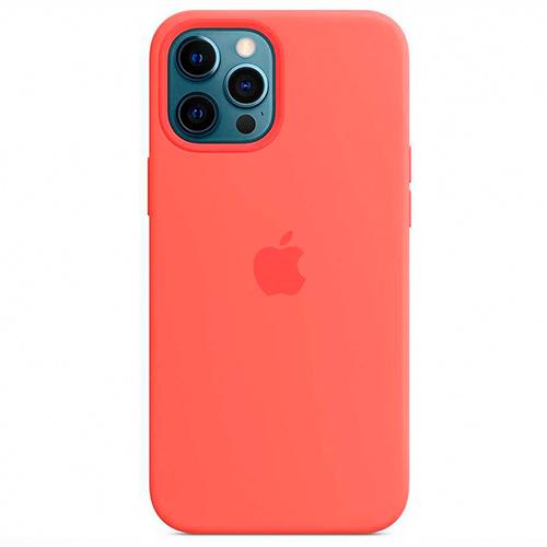 "Чехол Silicon Case для iPhone 12 Pro Max (6.7"") кораловый"