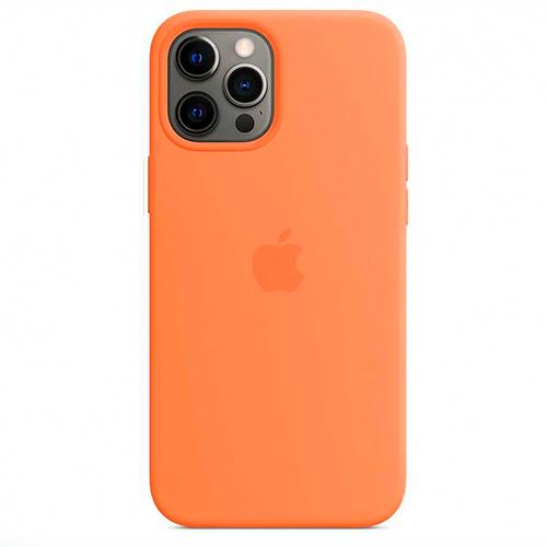 "Чехол Silicon Case для iPhone 12 Pro Max (6.7"") оранжевый"