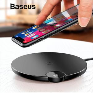 Беспроводная зарядка с дисплеем Baseus 10W BSWC-P21 Чёрная