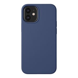 """Cиликон чехол Deppa Liquid Silicone Case для iPhone 12 Mini (5.4"""") синий"""