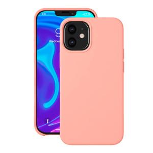 """Cиликон чехол Deppa Liquid Silicone Case для iPhone 12 Mini (5.4"""") розовый"""