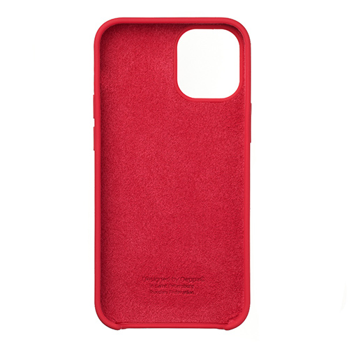 "Cиликон чехол Deppa Liquid Silicone Case для iPhone 12 Mini (5.4"") красный"