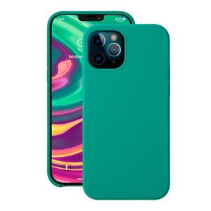 """Cиликоновый чехол Deppa Liquid Silicone Case для iPhone 12/ 12 Pro (6.1"""") зеленый"""