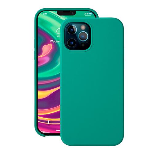 "Cиликон чехол Deppa Liquid Silicone Case для iPhone 12 Pro Max (6.7"") зеленый"