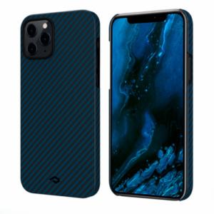 """Кевларовый чехол Pitaka MagEZ Case для iPhone 12 Pro 6.1"""", черно-синий"""