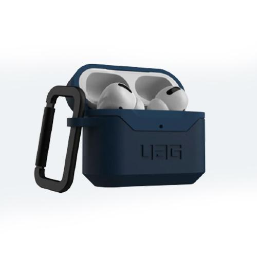 Противоударный чехол UAG Airpods Pro Hardcase V2, темно-синий (Mallard)