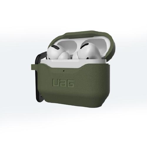 Силиконовый чехол UAG для Airpod Pro Silicone Case V2, оливковый (Olive)