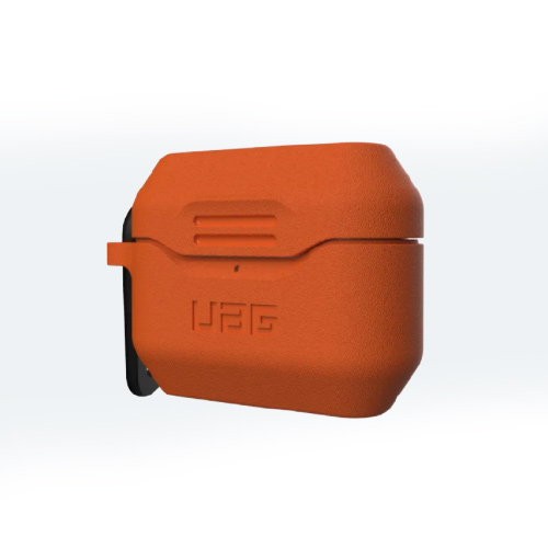 Силиконовый чехол UAG для Airpod Pro Silicone Case V2, оранжевый (Orange)