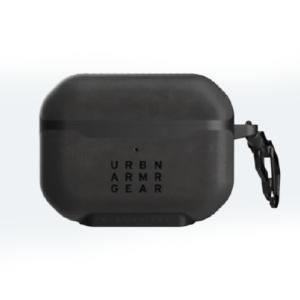 Кожаный чехол UAG Metropolis для Airpods Pro, черный (LTHR ARMR Black)