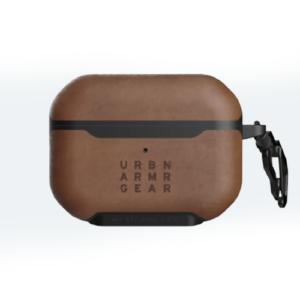 Кожаный чехол UAG Metropolis для Airpods Pro, коричневый (LTHR ARMR Brown)