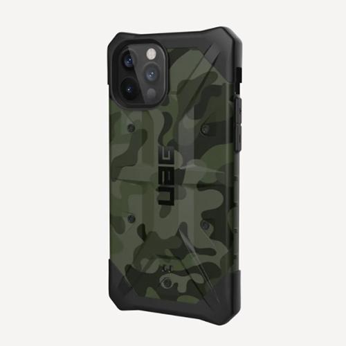 """Противоударный чехол Uag  Pathfinder SE для iPhone 12 Pro 6.1"""" зеленый (Forrest Camo)"""