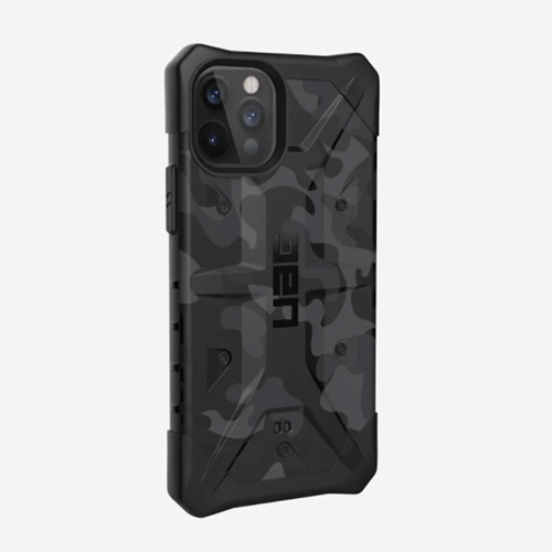 "Противоударный чехол Uag  Pathfinder SE для iPhone 12 Pro 6.1"" серый (Midnight Camo)"