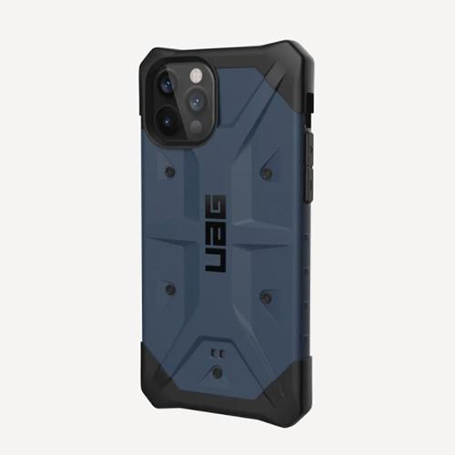 "Противоударный чехол Uag  Pathfinder для iPhone 12 Pro Max 6.7"" синий (Mallard)"