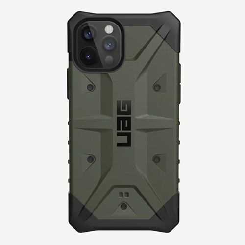 """Противоударный чехол Uag  Pathfinder для iPhone 12 Pro Max 6.7"""" зеленый (Olive)"""